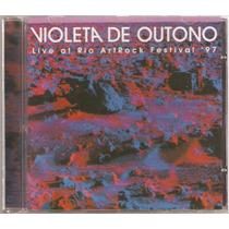 Cd Violeta De Outono - Live At Rio Artrock Festival 97