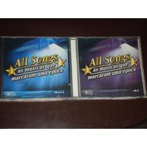 3 Cds All Songs As Músicas Que Marcaram Uma Época Coletania