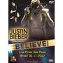 Dvd Justin Bieber - Believe Tour Live From São Paulo