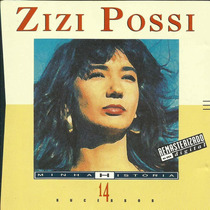 Cd - Zizi Possi - Minha Historia - Frete Gratis