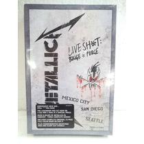 Metallica Live Shit Binge Purge Box2dvd+3cd Importado Lacrad
