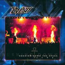 Cd - Edguy - Burning Down The Opera Live - Duplo E Lacrado