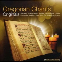 Cd Gregorian Chants - Originals (lacrado)