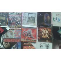 Encartes Completos De Cd Iron Maiden Pantera Black Sabbath
