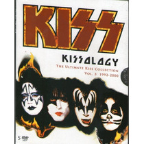 Dvd Box Kiss - The Ultimate Kiss Collection Vol.3 - Novo***
