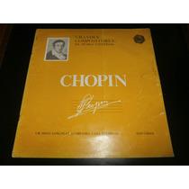 Lp Grandes Compositores Da Musica Universal - Chopin, Vinil