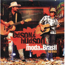 Cd Edson & Hudson - Na Moda Do Brasil