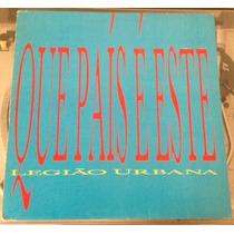 Legião Urbana Single Que País É Esse Promo Raro Vinyl