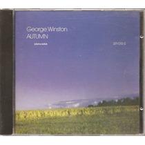 Cd - George Winston - Autumn