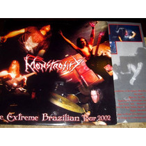 Lp Monstrosity - Live Extreme Brazilian Tour (02) C/ Encarte