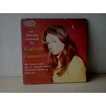Compacto Vinil Gigliola Cinquetti - Os Grandes Sucessos De