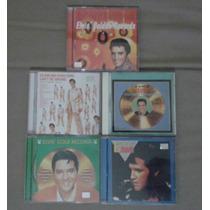 Cd Elvis Presley Golden Records Volumes 1 Ao 5 Originais