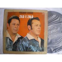 Lp - Zilo E Zalo / Pescando Saudade / Continental / 1970