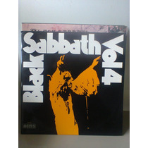 Lp Black Sabbath Vol. 4 Selo Nems Preto Capa Dupla