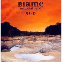 Cd Blame The Great Spirit 93 - D