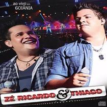 Zé Ricardo & Thiago - Ao Vivo Em Goiânia - Cd - Frete Grátis