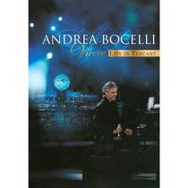 Dvd Andrea Bocelli Vivere Live In Tuscany Novo Lacrado