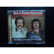 Cd Biá & Dino Franco - ( Minhas Canções Preferidas ).