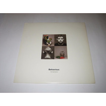 Pet Shop Boys - Behaviour - 1990 - Lp