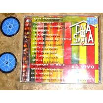 Cd Casa De Samba 2 Ao Vivo (97) Luiz Melodia Paulo Ricardo
