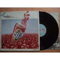 Banda Beijo- Lp Prove Beijo- 1988- Original- Encarte!