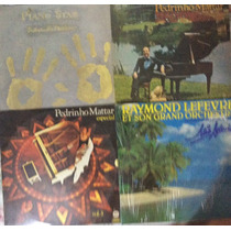 Lp Vinil Lote 15 Discos - Pianistas, Ray Conniff, Richard