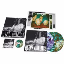 Box Lana Del Rey - Ultraviolence Deluxe - Vinil + Cd +fotos