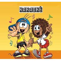 4 Dvds Karaokê Infantil Coletânea Infantis Vídeo Festa Kids