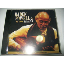 Cd Baden Powell & Filhos - Ao Vivo* Fotos Reais Do Produto