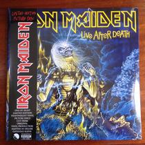 Iron Maiden Live After Death - Lp Vinil (picture Disc) 2013