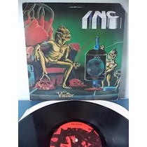 I.n.c. Visitor 1988 Lp Imp Metallica Testament Anthrax Sodom