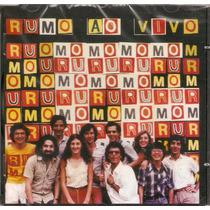 Cd Rumo - Rodopio Ao Vivo - Novo***
