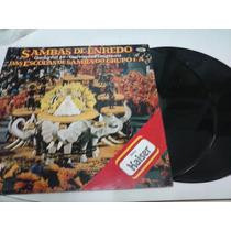 Sambas De Enredo Carnaval 89 - Lp Disco Vinil Duplo