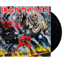 Lp Vinil Iron Maiden The Number Of The Beast Novo Lacrado