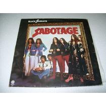 Lp Black Sabbath - Sabotage 1986 (sem Encarte)