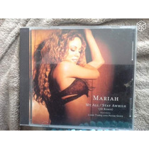 Cd-single-mariah Carey-my All/stay Awhile-[jd Remix]-import.