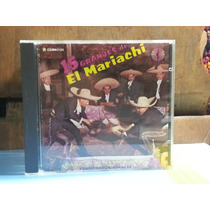 Cd 15 Grandes De El Mariachi - Vargas De Tecalitlan Original