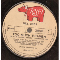 The Bee Gees Compacto Too Much Heaven