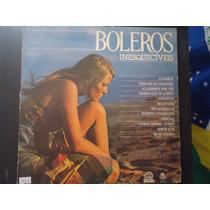 Disco Vinil Lp Boleros Inesquecíveis ##