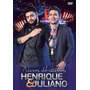 Box Dvd + Cd Henrique E Juliano Novas Histórias 2016 Recife