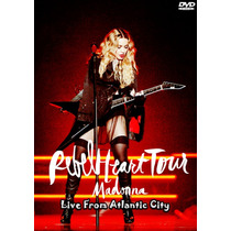 Dvd Madonna - Rebel Heart Tour Live From Atlantic City Hd