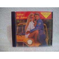 Cd Sabor De Amor- Volume 1- Gilbert O