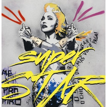 Madonna Superstar - Single Lacrado Original E Novo