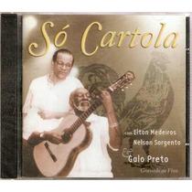 Cd So Cartola Elton Medeiros, Nelson Sargento E Galo Preto
