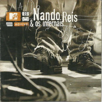 Cd Nando Reis E Os Infernais Mtv Ao Vivo (cd Novo E Lacrado)