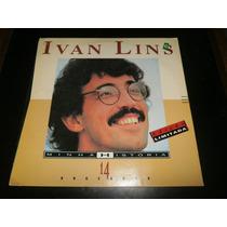 Lp Ivan Lins - Minha História, Disco Vinil, Ano 1993