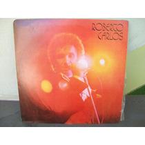 Lp. Roberto Carlos 1977 Com Encarte .