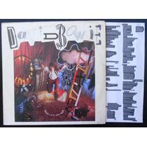 David Bowie - Never Let Me Down - Lp Vinil + Encarte