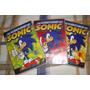 Dvd As Aventuras De Sonic Volumes 1, 2 E 3
