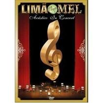 Dvd Limao Com Mel Acustico In Concert Original Lacrado Comnf